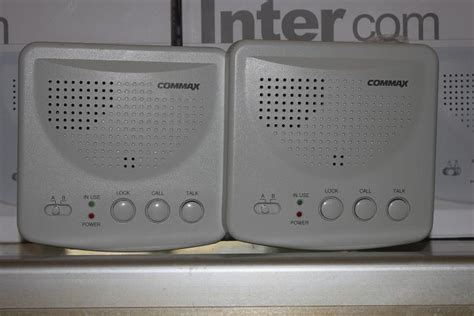 Intercom Interphone Commax Tp 12rc Max 12 Channel intercom system commax doorphone interphone