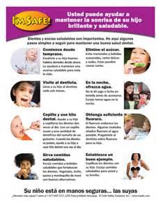 11 5051 parent tip sheet dental health spanish i m safe
