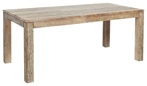 harbor dining table rustic dining tables by kosas