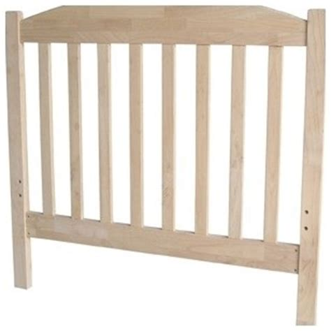 unpainted headboards unfinished wood slat headboard modern headboards by