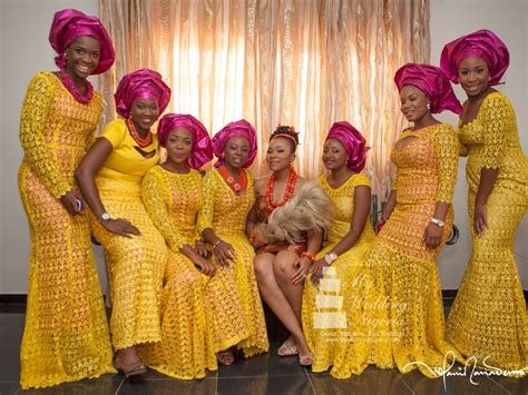 aso ebi style for blue and yellow colour aso ebi inspiration yellow and pink life of fg