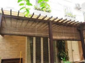 bamboo patio shades tiki bamboo thatch