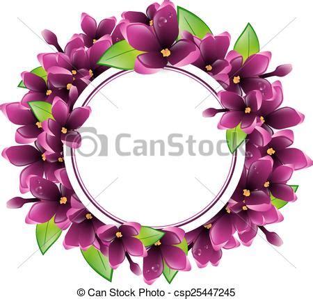 fiore lillà cornice fiore rotondo lilla fiore copyspace lilla