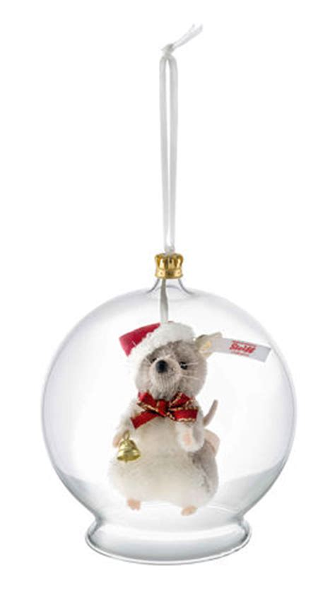 steiff christmas mouse bauble ornament teddy bears uk