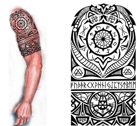 7 beautiful norse tribal tattoos norse half sleeve ideas nordic