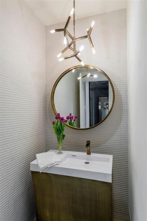 dallas filament bulb chandelier powder room contemporary