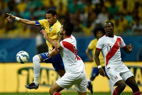 2018 fifa world cup russia teams peru fifacom carlos zambrano and neymar photos photos brazil v peru