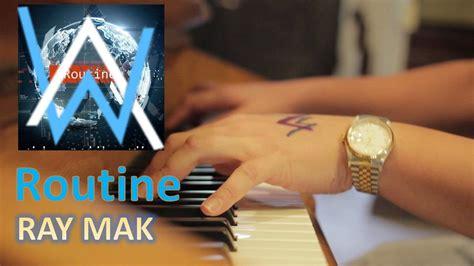 alan walker x david whistle routine lyrics alan walker x david whistle routine piano by ray mak