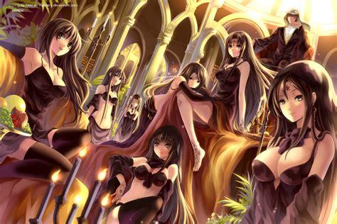 anime harem harem by myhilary on deviantart