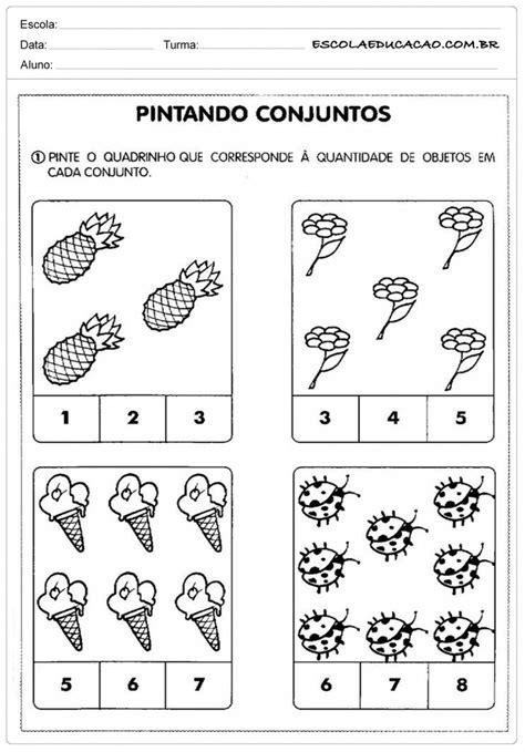 Déco ées 20 by Virtuosaspedagogia Atividades Numerais