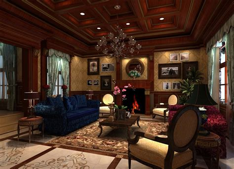 Oceanseven Assassin Creed 01 Hitam luxury living room 3d house
