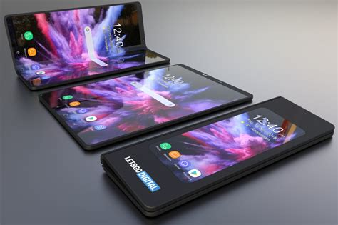 samsung s foldable phone 3d renders reveals its marvelous appeal gizmochina