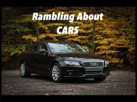 audi   review rambling  cars youtube