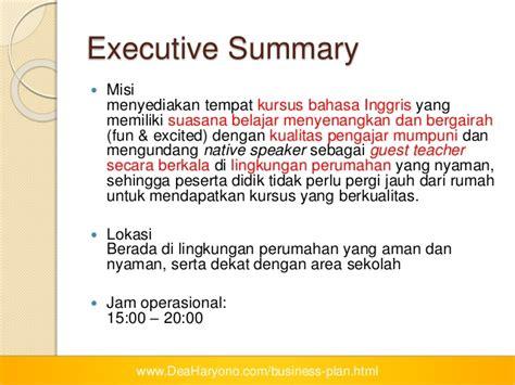 alasan membuat business plan business plan kursus inggris