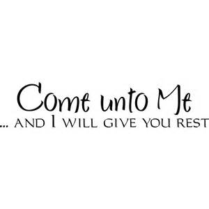 Chandeliers Song Come Unto Me And I Will Give You Rest Religious Quote Wall