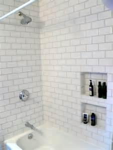 Bathtub Trim Molding Shower Niche New Prairie Construction