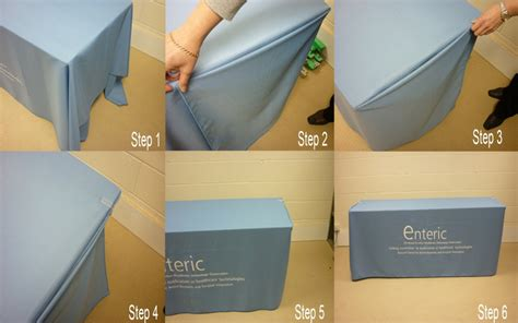 How To Make A Table Cloth by Box Fitting A Custom Printed Tablecloth Promotional