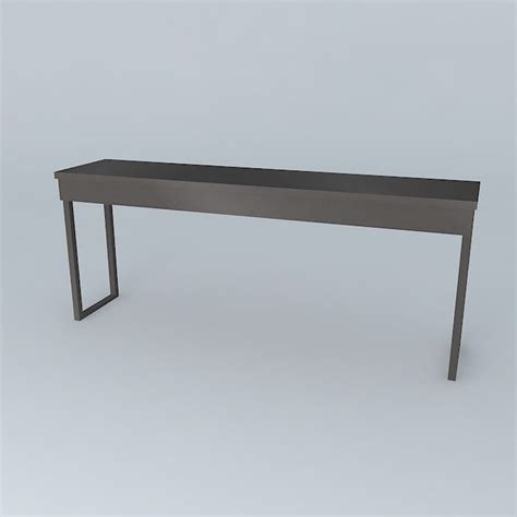 besta burs desk besta burs desk grey free 3d model max obj 3ds fbx stl skp