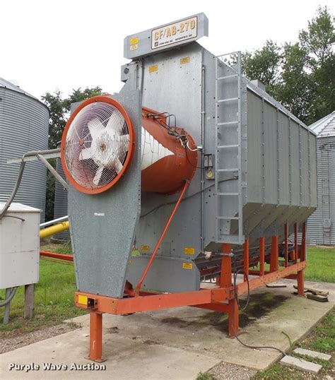 grain fans for sale farm fans cf ab 270 grain dryer item al9114 sold
