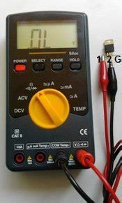 diode mode on multimeter how to test a triac with diode mode