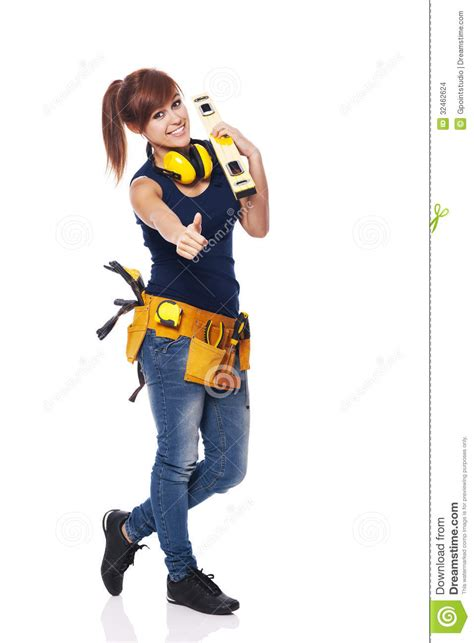 Home Based Design Engineer female construction worker stock images image 32462624
