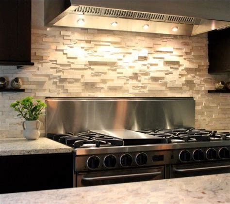 stacked kitchen backsplash stacked backsplash a bold choice great home decor