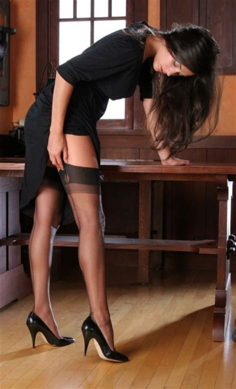brunette bent over heels the 270 best images about ff stockings suspenders on