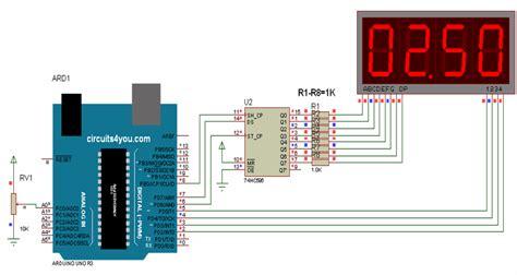 7 Segmen Seven Segment Led Display 1 Digit Common Cathode 056 four digit 7 segment display interfacing with arduino