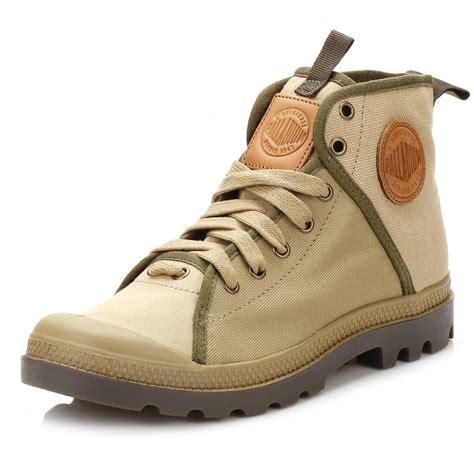 palladium shoes palladium mens ankle boots pa hi 47 lace up casual