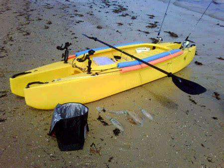 most stable fishing boat australia w500 fishing kayak review by shaun wilkeson kayak angler
