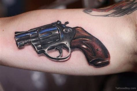 pistol tattoo gun tattoos designs pictures page 9