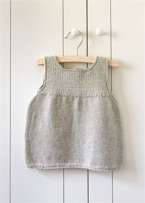 pattern for simple knit dress baby knitting patterns clean simple baby dress