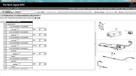 jaguar s type epb wiring diagram free wiring