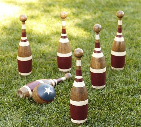 Backyard Bowling Set by Vintage Bowling Set Gardenista