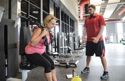 facility  fit  customers clinic gym spaces open