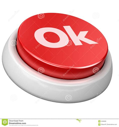 7r Jp Button button ok royalty free stock image image 5466606