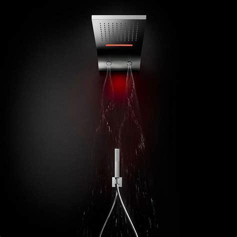 soffione doccia cromoterapia soffioni doccia con cromoterapia per docce emozionali