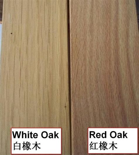 Oak Cabinets Kitchen Design by Red Oak Vs White Oak Hardwood Flooring