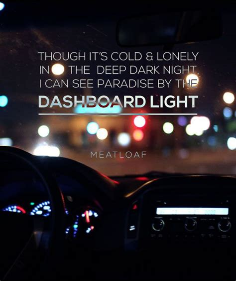 Paradise By The Dashboard Light Meatloaf by 1000 Ideas About Dashboard On Norwex Biz