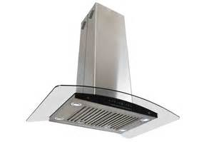 36 quot island mount stainless steel range hood kitchen stove vent led