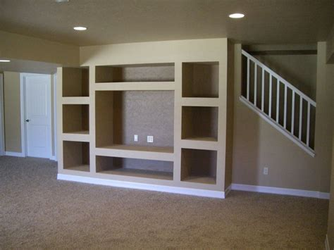 tell you how to build an entertainment wall unit share custom drywall entertainment centers built in