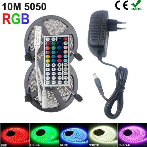 Jual Led Smd Rgb smd rgb led light 5050 2835 10m 5m led light rgb leds diode led ribbon mini