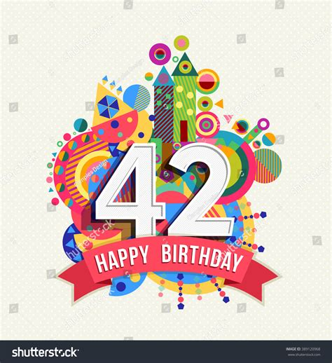 1 42 mb free 1 happy birthday song download mp3 yump3 co happy birthday forty two 42 year stock vector 389120968