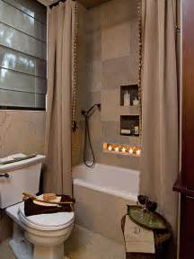 Using Shower Curtains As Drapes Small Bathroom Decorating Ideas Bathroom Ideas Amp Designs