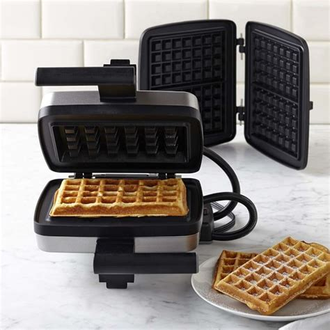 croquade waffle maker with brussels and traditional