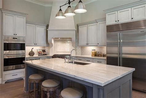 kitchen island with freestanding stove transitional corner stove and kitchen transitional white