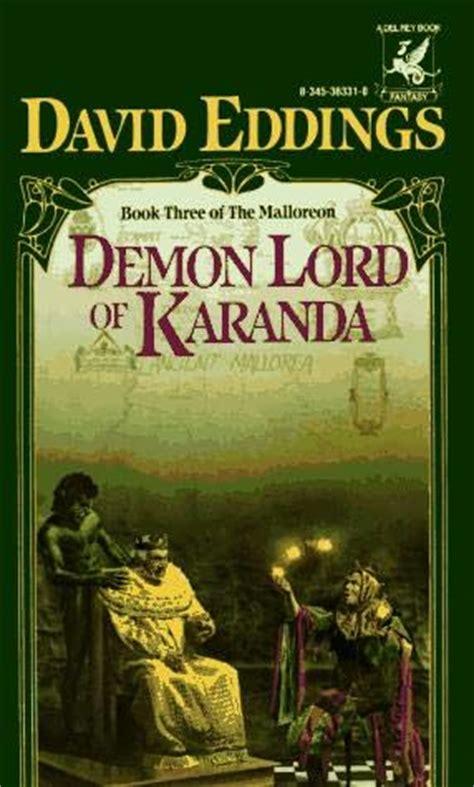the company of demons books lord of karanda malloreon book 3 by david eddings