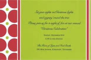 christmas party invitation wording gangcraft net