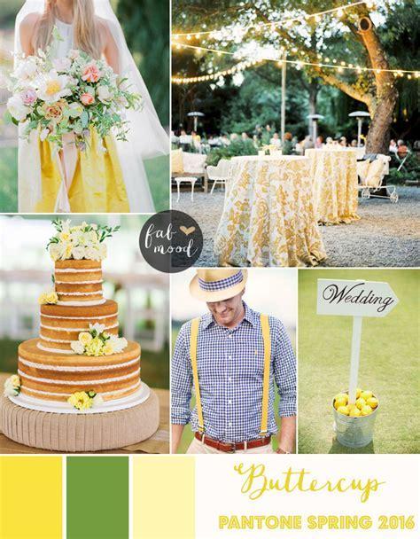 Buttercup Wedding Theme { Pantone Spring 2016 }