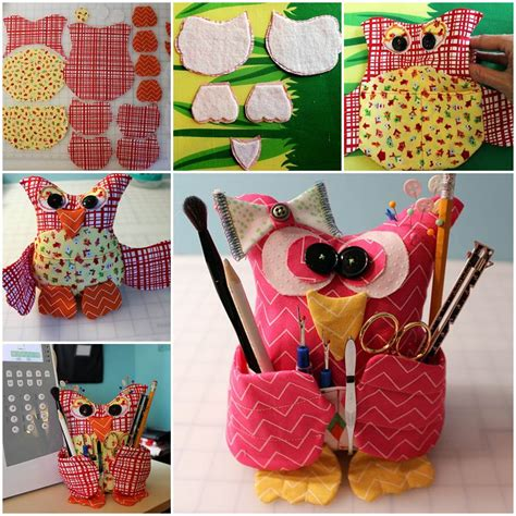 diy fabric craft ideas creative ideas diy adorable fabric owl fabric owls